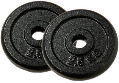 Sada 2 závaží na činky 2,5 kg