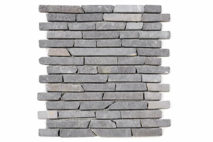 Mramorová mozaika Garth – šedá obklady – 1x síťka