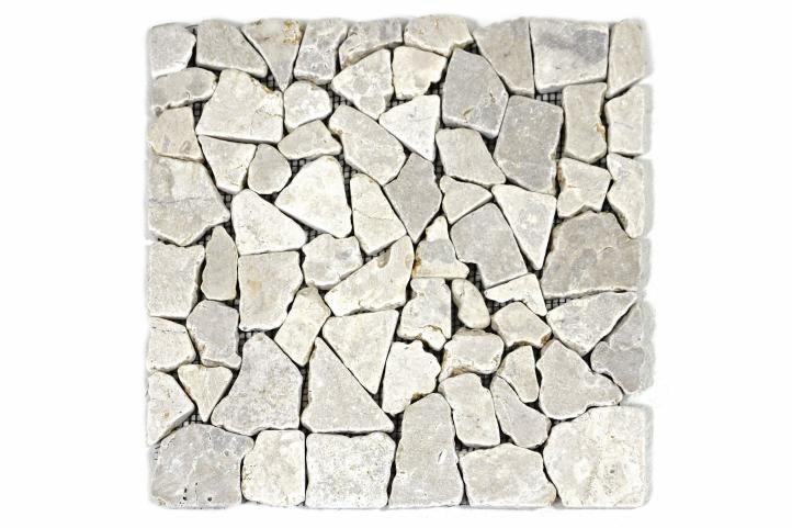 Mramorová mozaika Garth- krémové obklady - 1 x síťka