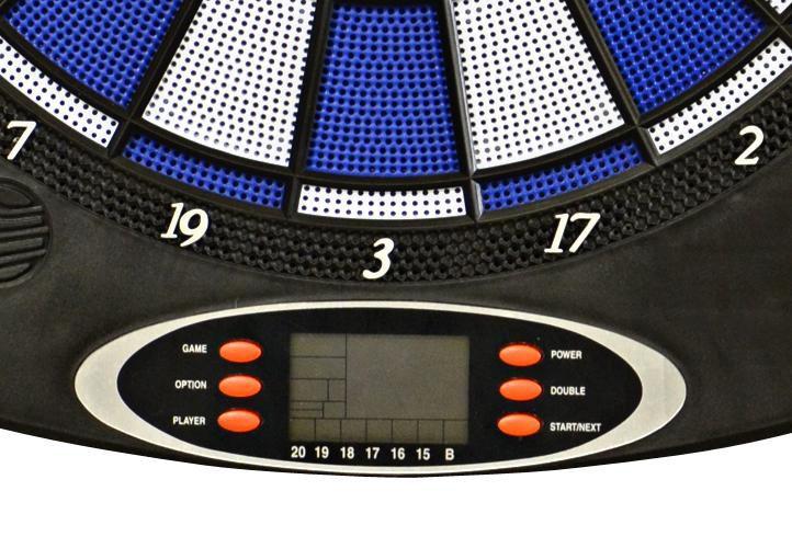 Elektronický terč na šipky BLUE + příslušenství
