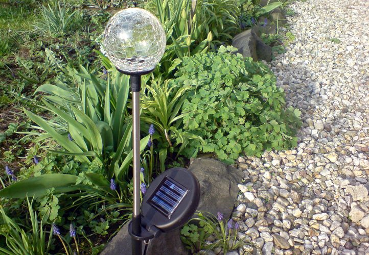 REMO zahradní LED sada solárních světel Garth \