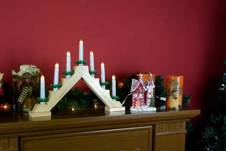 Klasický vánoční svícen