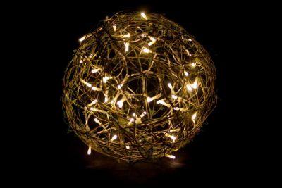 Dekorace - Světelná koule o průměru 30 cm - 50 LED diod