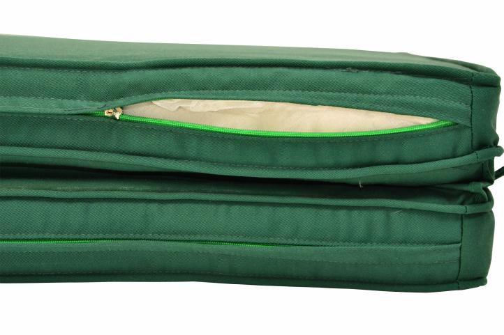 Set zahradního polstrování Garth 2 ks - zelená
