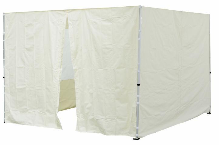 Sada 2 bočních stěn pro PROFI zahradní stan 3 x3 m champagner