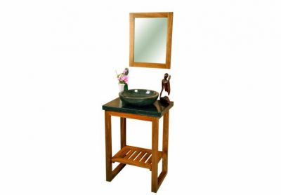 DIVERO koupelnový nábytek z týkového dřeva