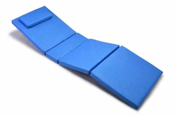 Polstrování na lehátko Garth - modrá