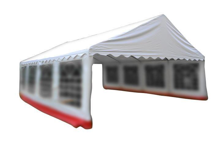 Náhradní střecha k zahradnímu stanu 6 x 8m - bílá