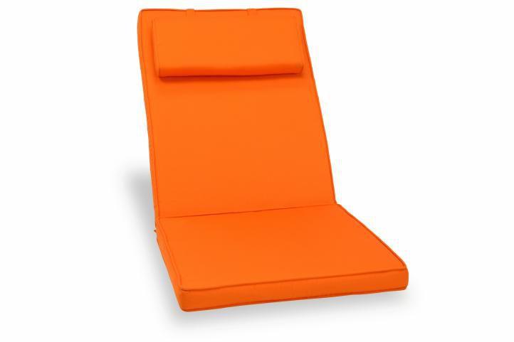 Divero 325 Polstrování na židli - oranžová