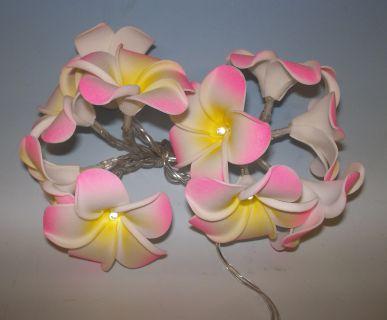 Dekorativní LED řetěz - magnolie - studená bílá 10 LED