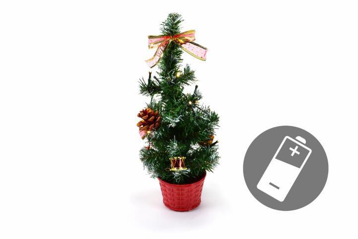 Vánoční stromek s LED osvětlením 40cm