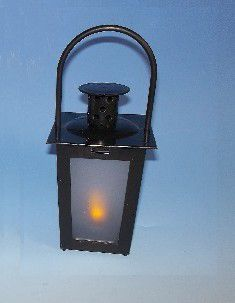 Lucerna CLASSIC MINI - 15,5 cm černá LED