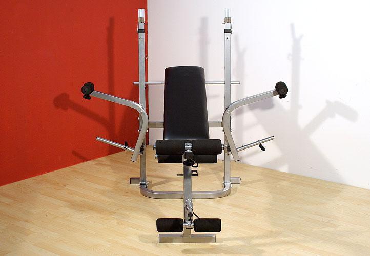 Multifunkční lavice + činka BENCH