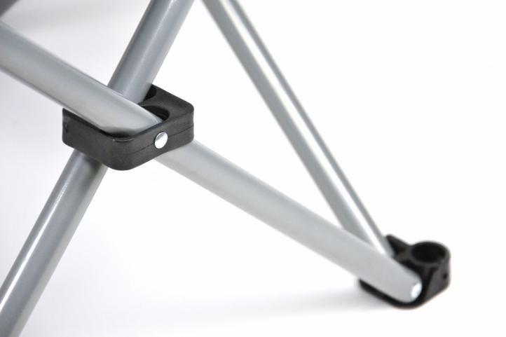 Skládací kempingová židle DIVERO XL - zelená