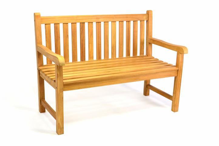 Zahradní lavice DIVERO 2-místná masivní 120 cm D35180