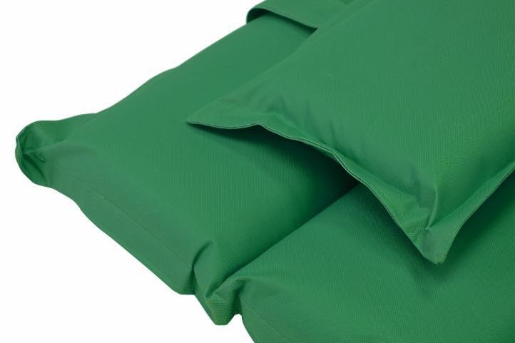 Polstrování na lehátko Garthen - tmavě zelená