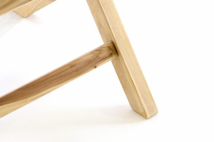 Skládací židle Gardenay z týkového dřeva