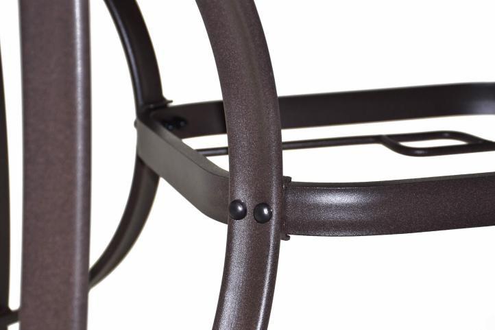 Zahradní polyratanový set Bistro se skleněným stolem - béžová