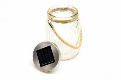 Garthen Sada 3 ks dekorativní solární osvětlení - závěsná sklenice - LED měnící barvu
