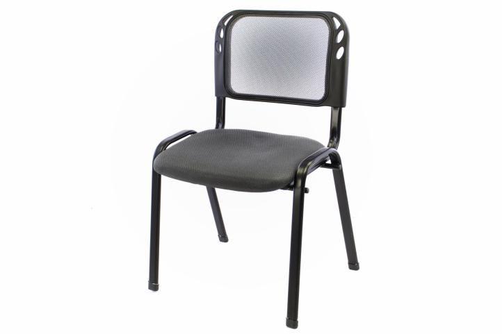 Stohovatelná kongresová židle - šedá