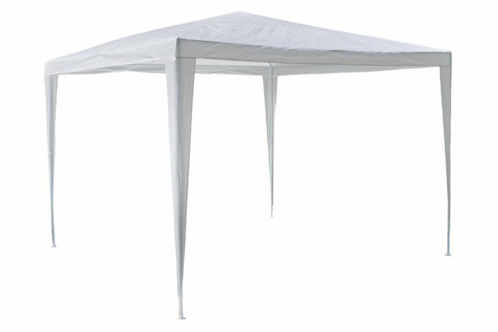 Zahradní párty stan - bílý 3 x 3 m
