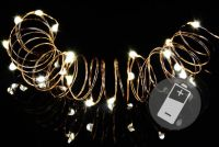 Světelné LED osvětlení - 4 sady - 20 mini mikro diod
