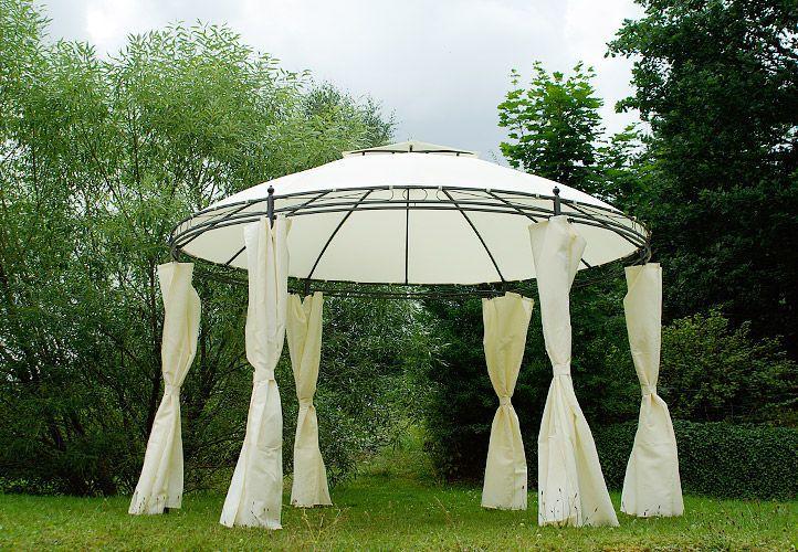Zahradní kruhový stan CIRCLE - hnědý 3.5 m