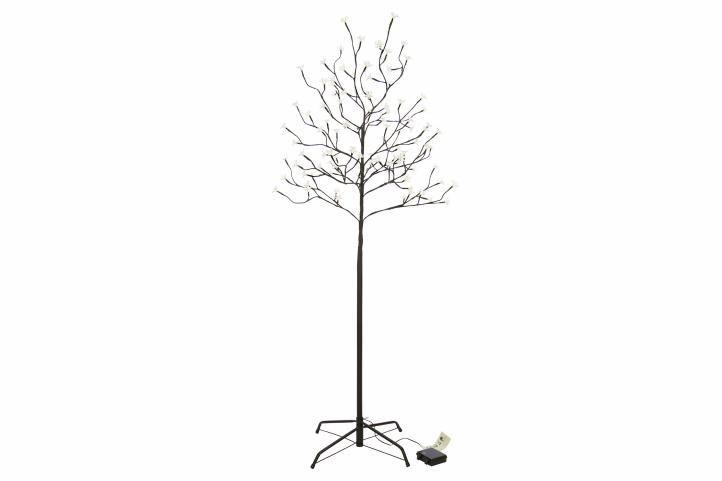 Vánoční dekorace - světelný strom, 150 cm, 96 LED