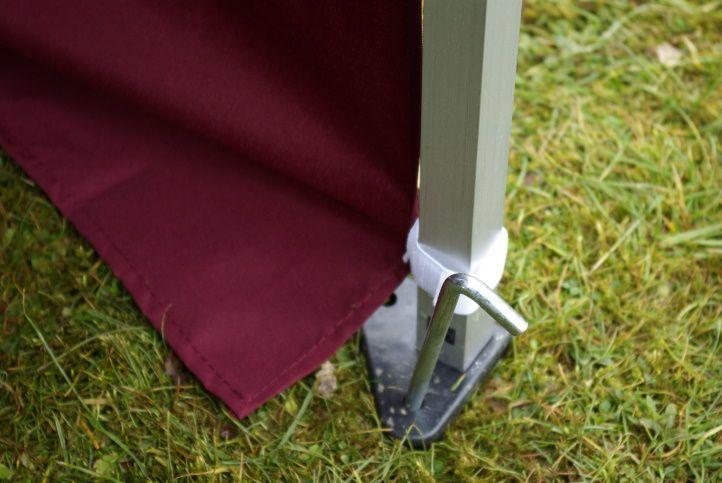 Zahradní párty stan 3 x 6 PROFI - nůžkový - terakota