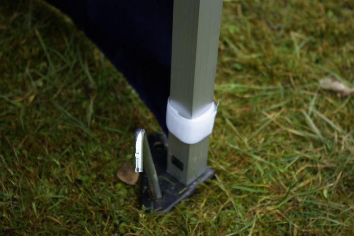 Zahradní párty stan 3 x 6 PROFI - nůžkový - bílý
