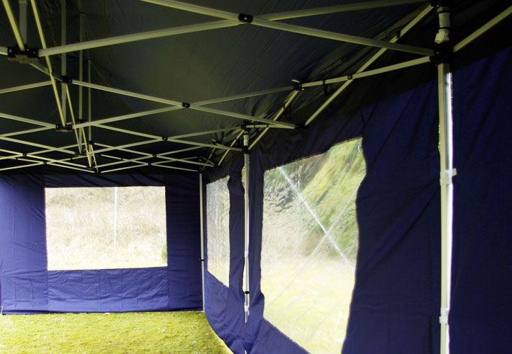 Zahradní skládací párty stan PROFI - krémová, 3 x 9 m