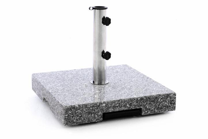 Stojan pro slunečník – žula a ocel – 37 kg