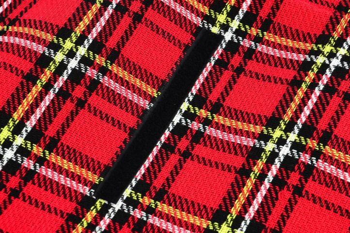Pikniková deka - červená kostka 150 x 130 cm