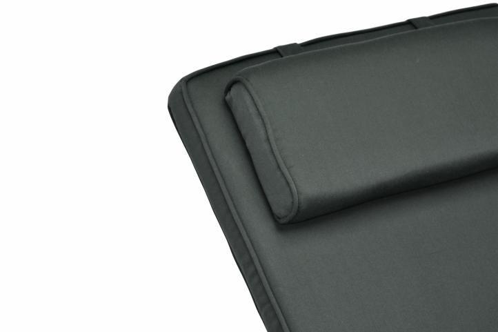 Sada 2 kusů polstrování na židli Garth – antracit