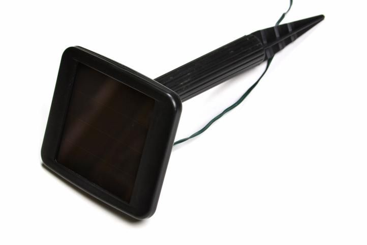 Solární světelný déšť s blikající funkcí - 110 LED diod