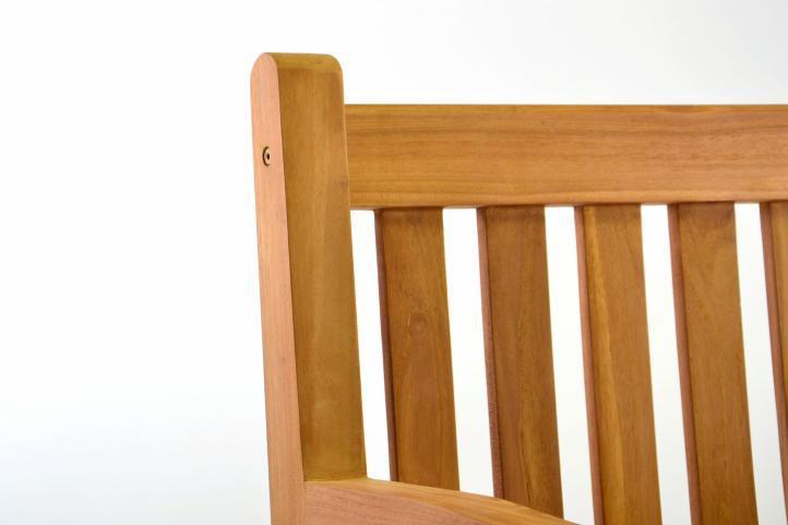 Exkluzivní židle z týkového dřeva DIVERO