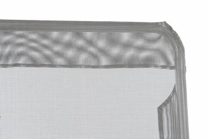Polohovatelné zahradní lehátko - šedá