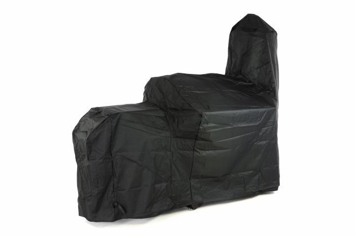 Ochranný obal na gril SMOKER – černý 212×172 cm