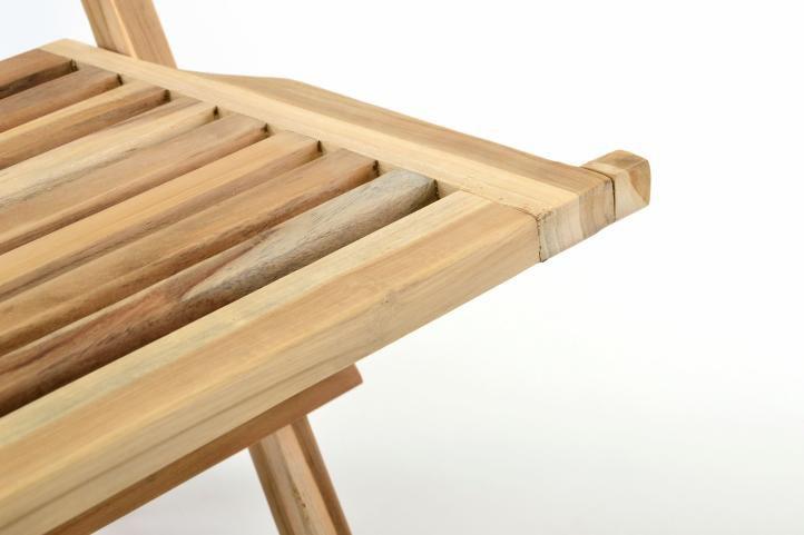 Sada 2 ks  zahradní židle skládací DIVERO