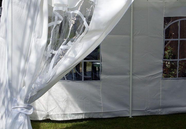 Zahradní stan - bílý, 4 x 4 m