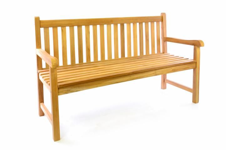 Zahradní dřevěná lavice DIVERO - 150 cm D41622