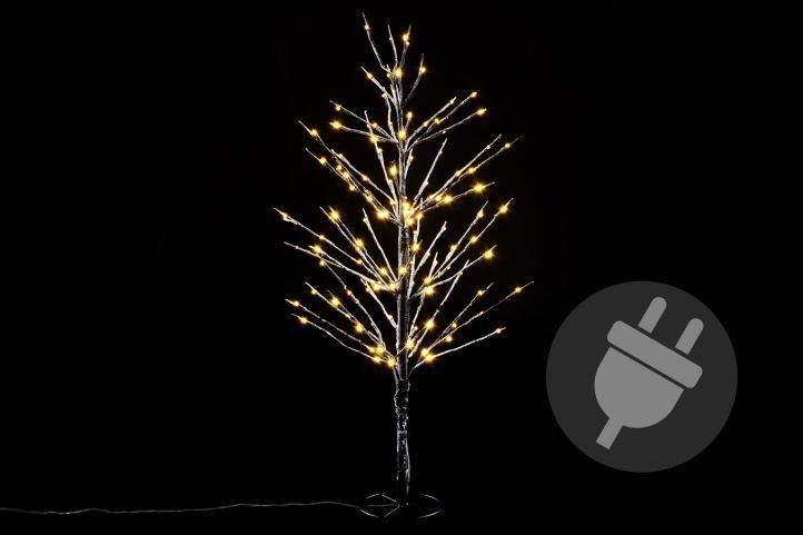 Nexos 41679 Dekorativní zimní strom 90 cm - 120 LED teplá bílá
