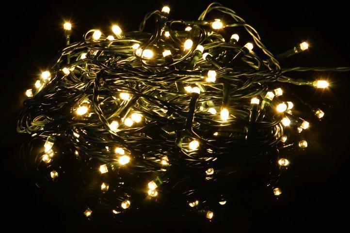 Vánoční světelný řetěz -29,9 m, 300 LED,9 blikajících funkcí