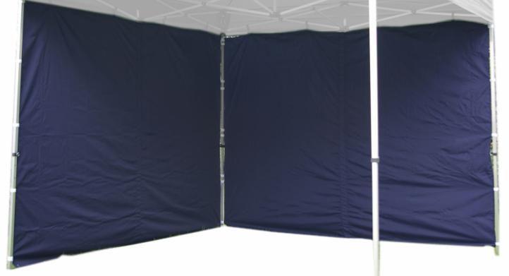 Sada 2 bočních stěn pro PROFI zahradní stan 3 x 3 m - modrá