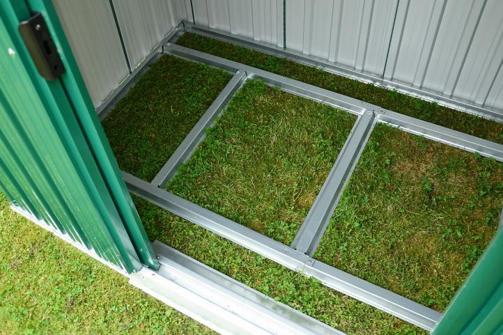 Zahradní domek plechový