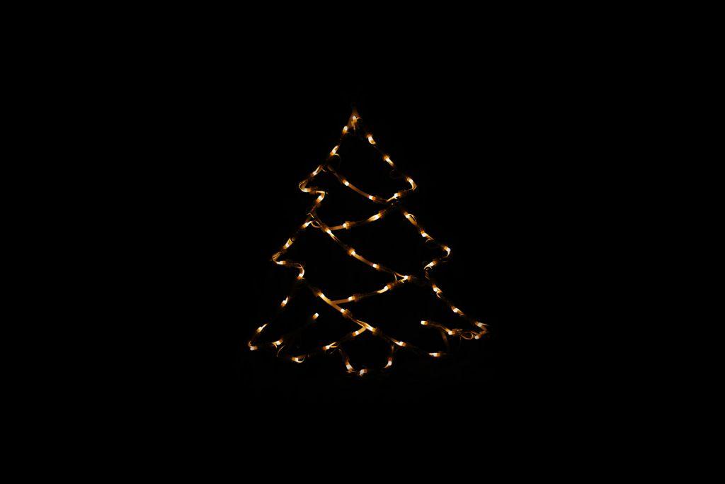 Nexos 43007 Vánoční LED dekorace do okna - STROM - 40 cm