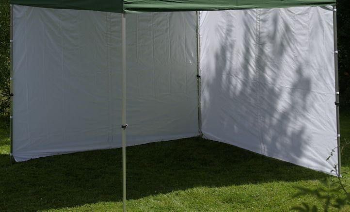 Sada 2 bočních stěn pro PROFI zahradní altán 3 x 3 m – bílá