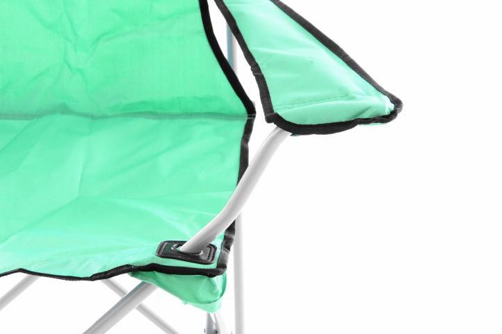 Skládací kempinková rybářská židle OXFORD - zelená