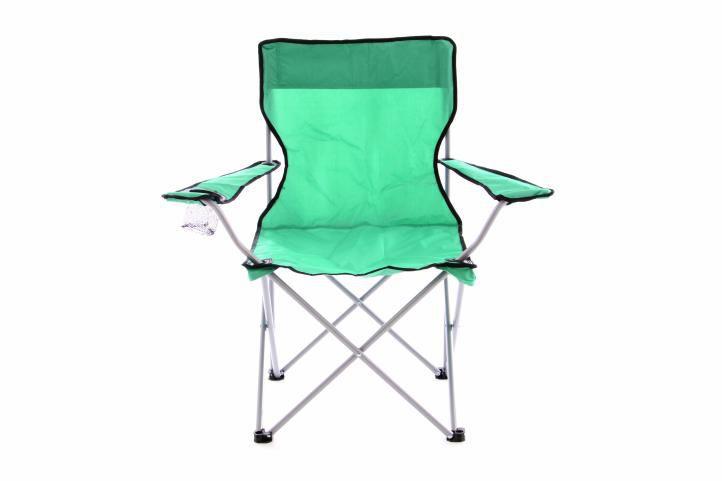 Skládací kempinková rybářská židle OXFORD - zelená Divero