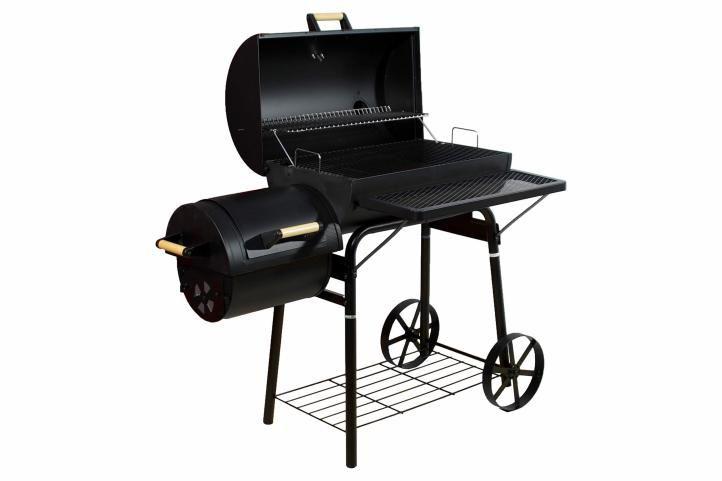 BBQ gril Garth na dřevěné uhlí, extra velký, 32 kg + obal
